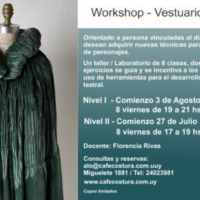 Workshop de Vestuario Teatral