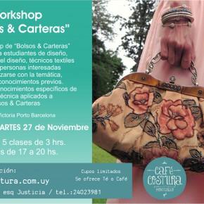 Workshops de BOLSOS & CARTERAS