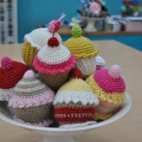 Taller de Amigurumis: Cupcakes