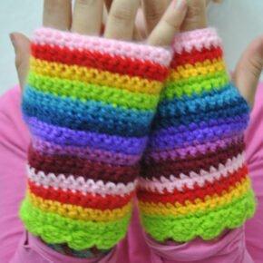 Taller de Mitones en Crochet