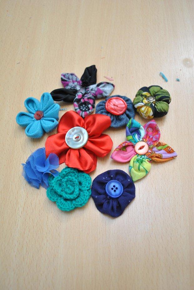 flores textiles