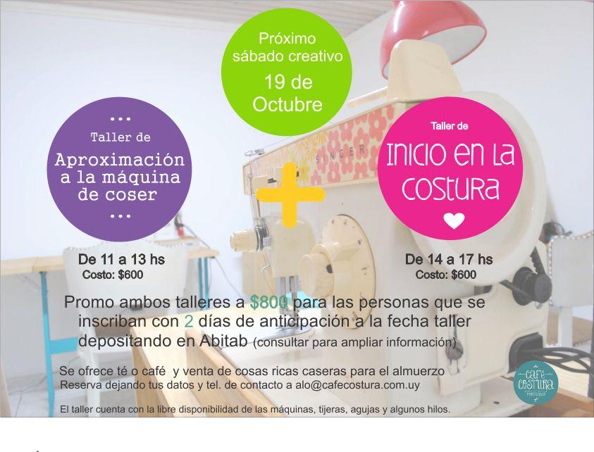 ¡Sábado Creativo en Café Costura!