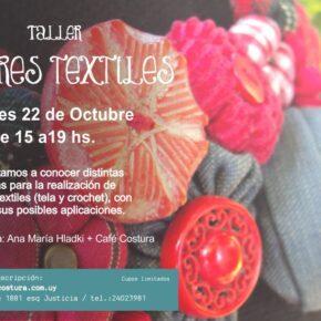 Taller de Flores Textiles y Crochet