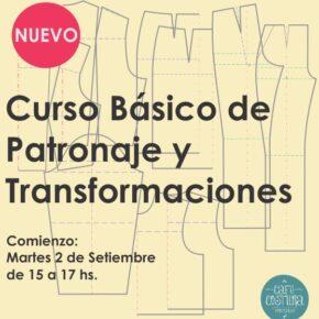 Curso Básico de Patronaje y Transformaciones