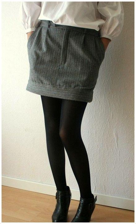 Pantalon en falda 4